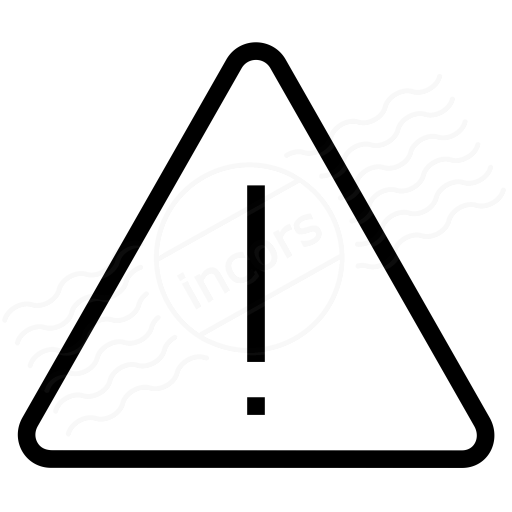 Iconexperience I Collection Sign Warning Icon