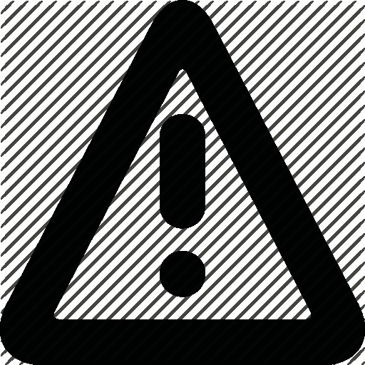 Set Of Triangle Caution Icons Vector Or Icon