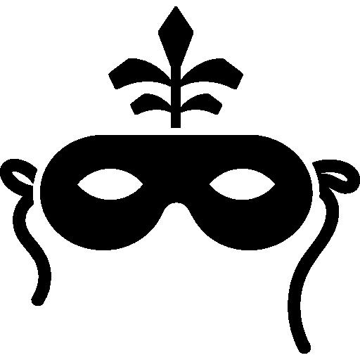 Mask For Brazil Carnival Celebration Icons Free Download
