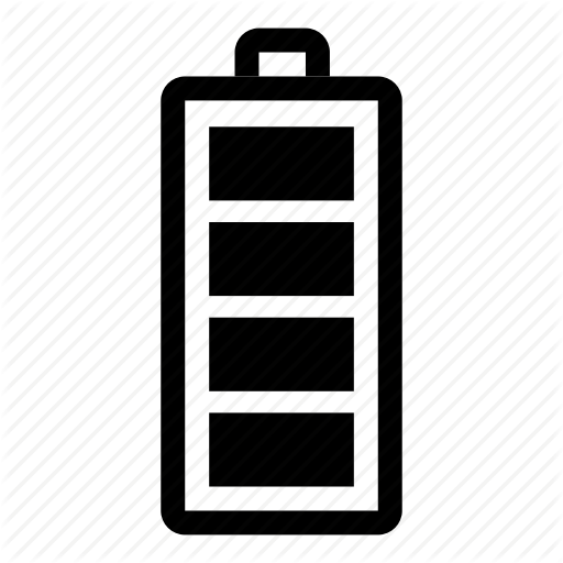 Battery, Charged, Charging, Energy, Full, Mobile, Smartphone Icon