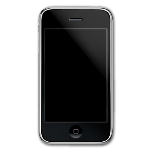 Smartphone, Iphone, Cell Phone, Front, Mobile Phone Icon Iphone