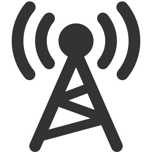 Wireless Cell Tower Icon Images