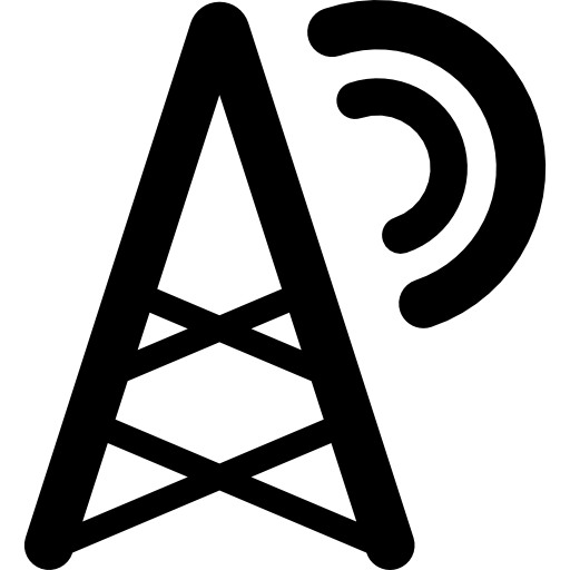 Radio Tower Icons Free Download