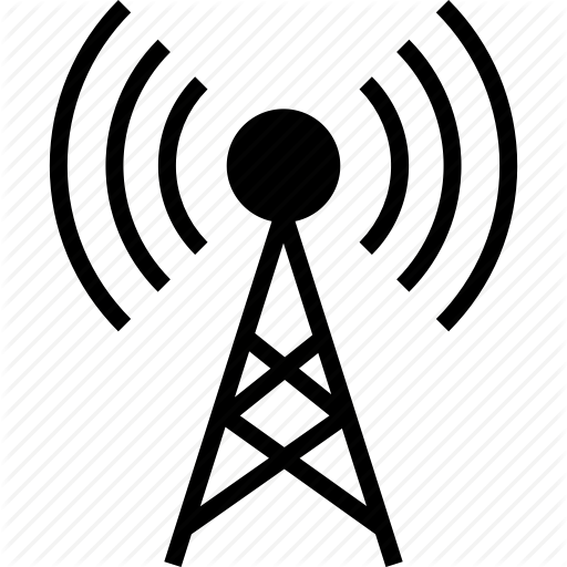Antenna, Cell, Network, Radio, Signal, Tower, Wireless Icon