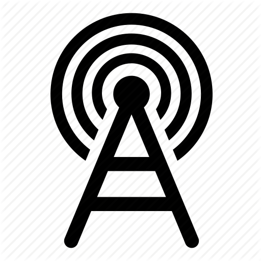 Antenna, Cell, Mobile, Network, Signal, Tower Icon