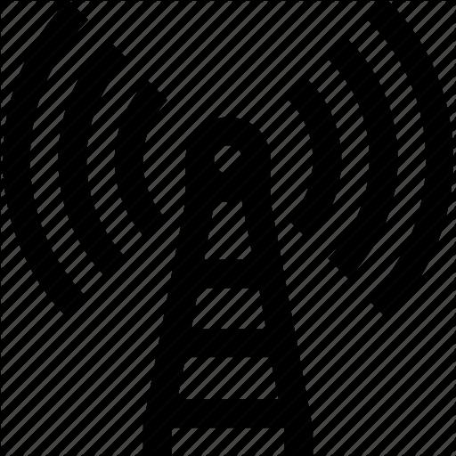 Cellular, Data, Mobile, Network, Phone, Satellite, Signal Icon
