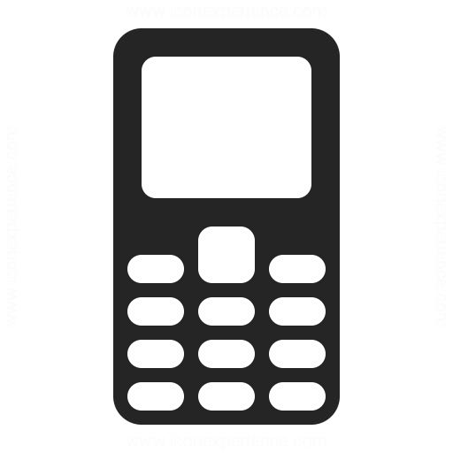Mobile Phone Icon Iconexperience