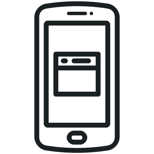 Mobile Page, Page, Mobile Website, Cell Phone, Website Icon, Phone