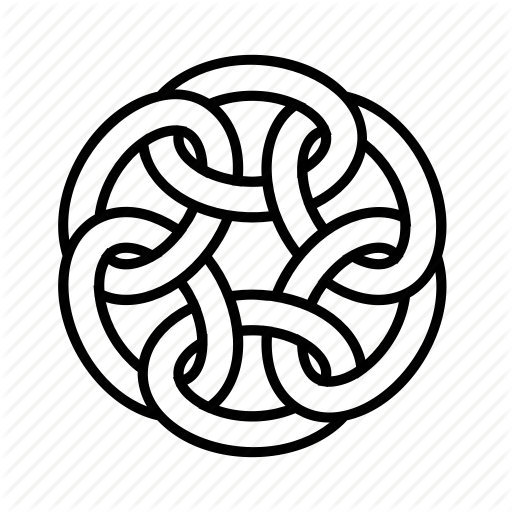 Celtic, Chain, Knot, Link Icon