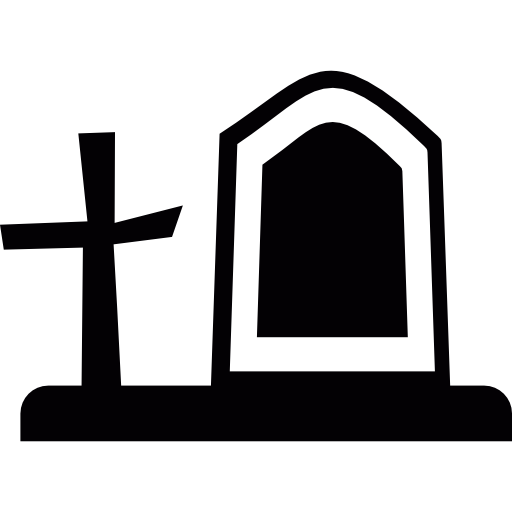 Cemetery Halloween Icons Free Download