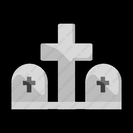 Download Cemetery Icon Inventicons