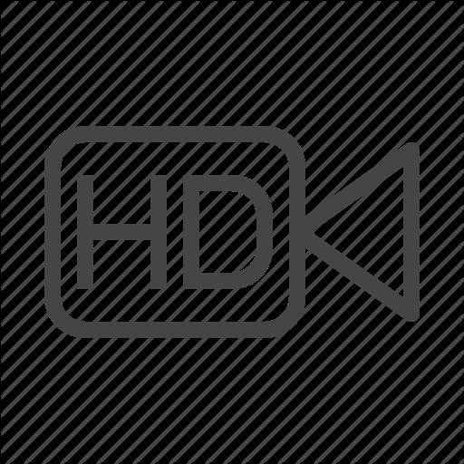 Audio, Camera, Hd, Media, Multimedia, Music, Video Icon