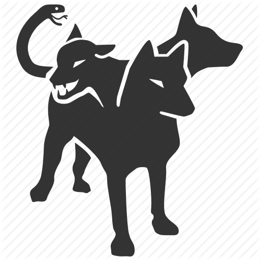 Barghest, Cerberus, Dog, Hellhound, Hound, Monster, Scary Icon