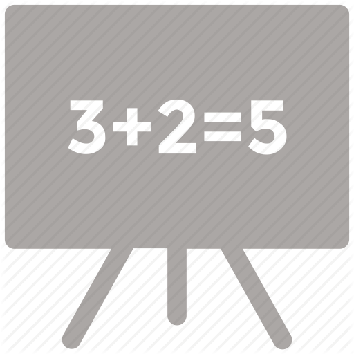 Black Board, Board, Chalk Board, Class Room Icon Icon