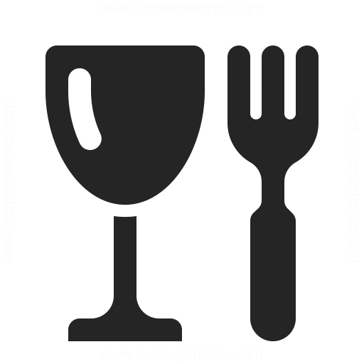 Glass Fork Icon Iconexperience
