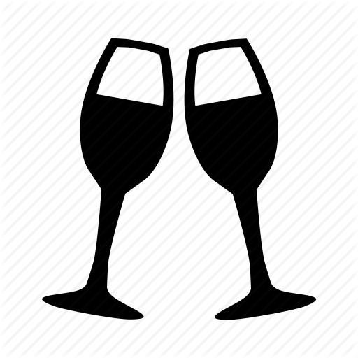 Celebration, Champagne, Cheers, Drink, Drinks, Glass, Wine Icon