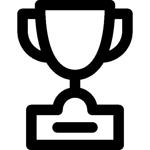 Championship, Favorite, Trophy, Signs, Winner, Champion Icon