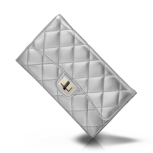 Silver Purse Icon Chanel Iconset
