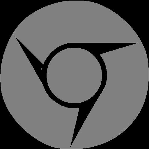 Gray Chrome Icon