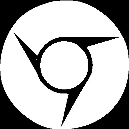 White Chrome Icon