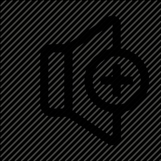 Change, Increase Volume, Plus, Sound, Speaker, Volume Icon