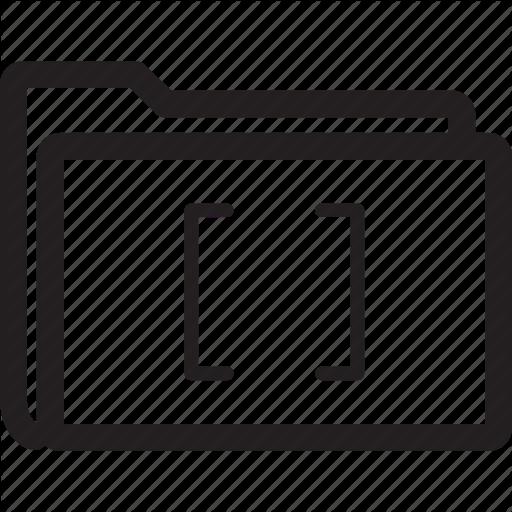 Brackets, Folder Icon