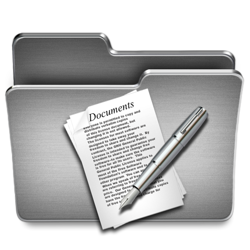 Documents, Folder Icon Free Of Steel System Icons