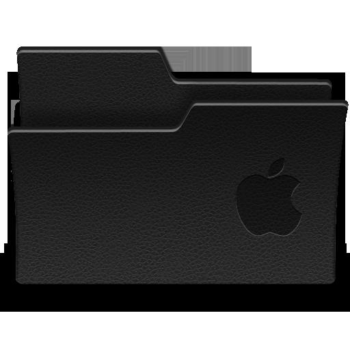 Black Mac Folder Icons Images
