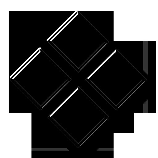 Four Diamond Shapes Icon