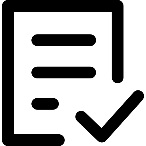 Check Form Icons Free Download