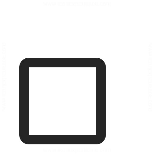 Checkbox Unchecked Icon Iconexperience