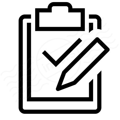 Iconexperience I Collection Clipboard Check Edit Icon