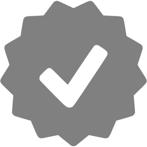 Gray Approval Icon