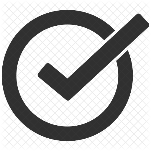 Checkmark Gray Transparent Png Clipart Free Download