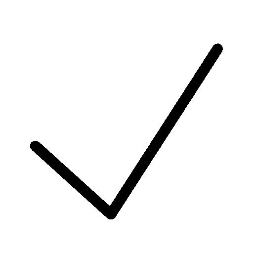Very Basic Checkmark Icon Ios Iconset