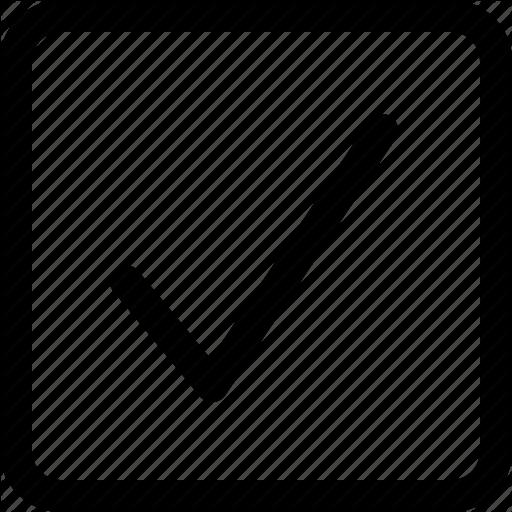 Box, Check, Checkbox, Checked, Mark, Selected, Square Icon