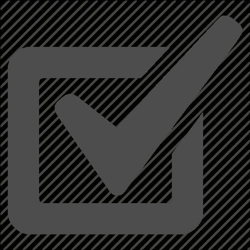 Browser, Check, Checkbox, Ok, Tick, Web Icon