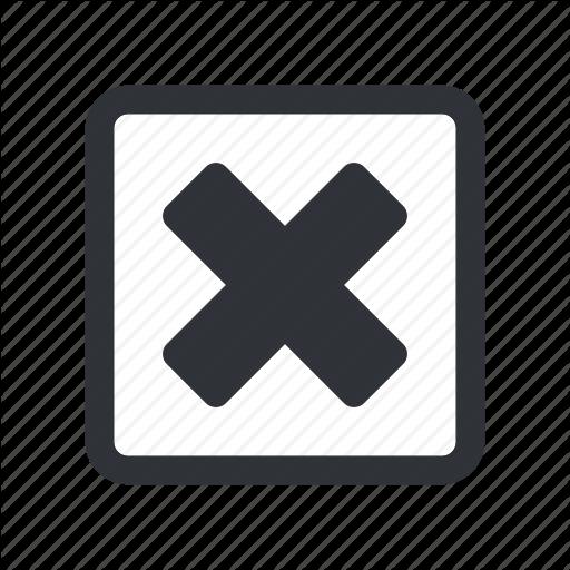 Check, Check Box, Checkbox, Select, X Icon
