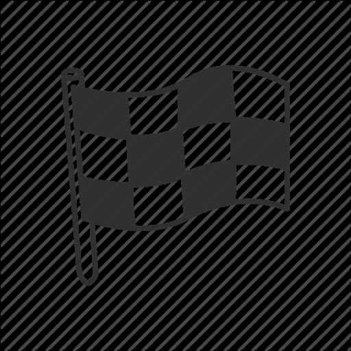 Checkered Flag, Emoji, Finish, Finish Line, Flag, Race, Race Flag Icon