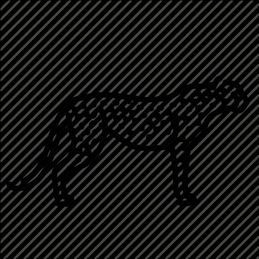 Animal, Cat, Cheetah, Mammal, Nature, Wildlife Icon