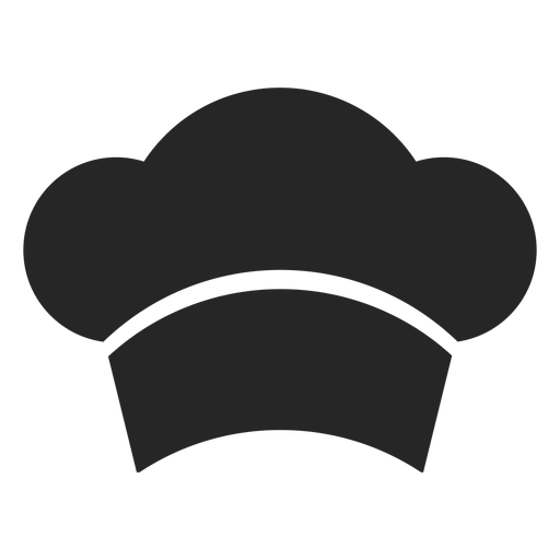 Chef Hat Front Flat Icon