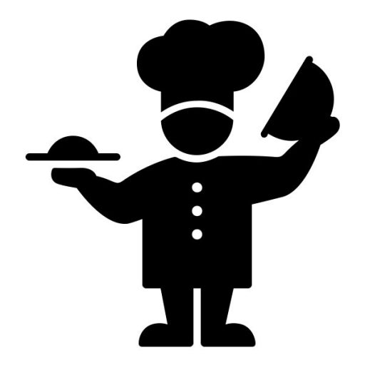 Cropped Chef Icon Vienrose Catering