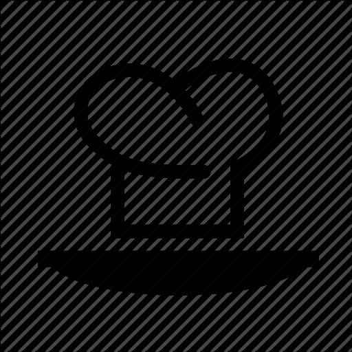 Chef, Chef Cap, Chef Hat, Plate Icon