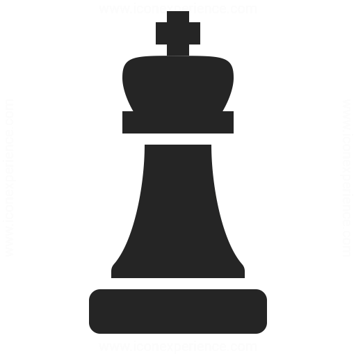 Chess Piece King Icon Iconexperience
