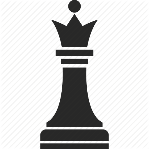Chess, Game, Game Piece, Queen Icon