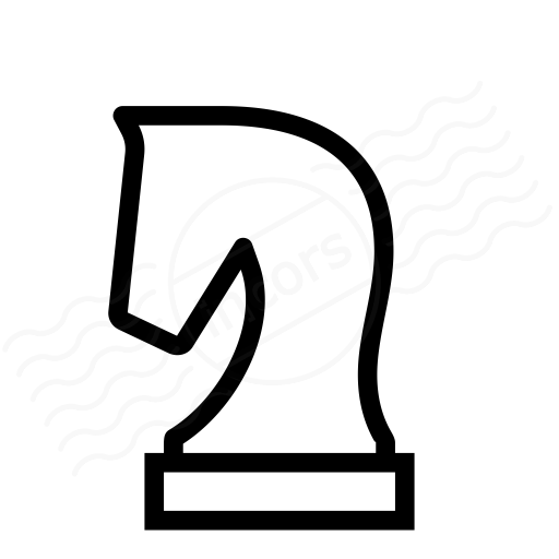 Iconexperience I Collection Chess Piece Knight Icon