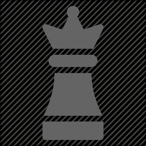 Casino, Chess, Piece, Queen Icon