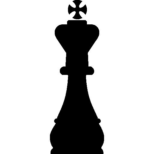 King Chess Piece Shape