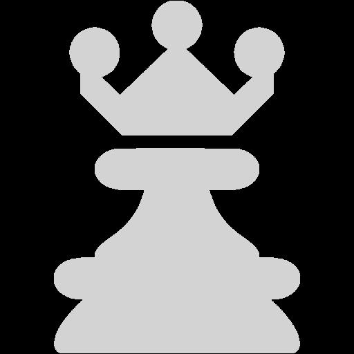 Light Gray Queen Icon