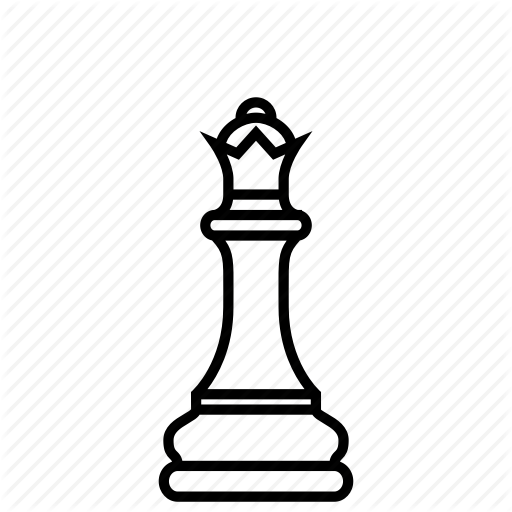 Chess, Design, Game, Highness, Queen, Ruler, Strategy Icon